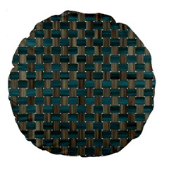 Background Vert Large 18  Premium Round Cushions