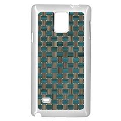 Background Vert Samsung Galaxy Note 4 Case (White)