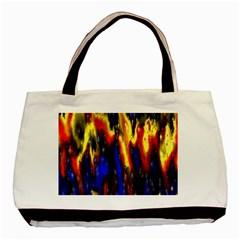 Banner Header Plasma Fractal Basic Tote Bag