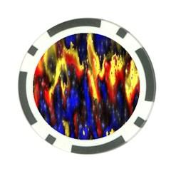Banner Header Plasma Fractal Poker Chip Card Guard