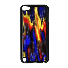 Banner Header Plasma Fractal Apple Ipod Touch 5 Case (black)