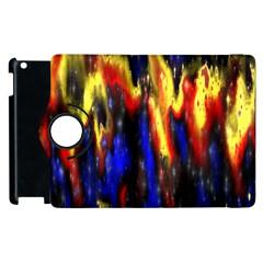 Banner Header Plasma Fractal Apple iPad 3/4 Flip 360 Case