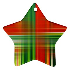 Background Texture Structure Green Ornament (Star)