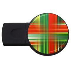 Background Texture Structure Green Usb Flash Drive Round (4 Gb)
