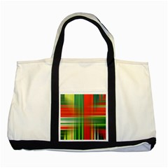 Background Texture Structure Green Two Tone Tote Bag