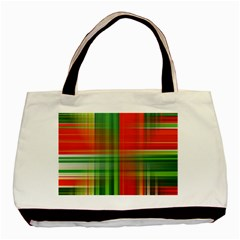 Background Texture Structure Green Basic Tote Bag (Two Sides)