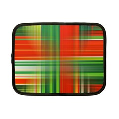 Background Texture Structure Green Netbook Case (Small)