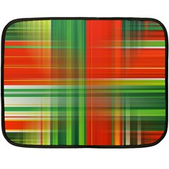 Background Texture Structure Green Double Sided Fleece Blanket (Mini)