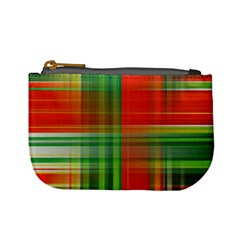 Background Texture Structure Green Mini Coin Purses