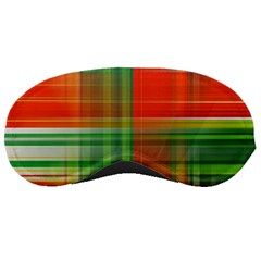 Background Texture Structure Green Sleeping Masks