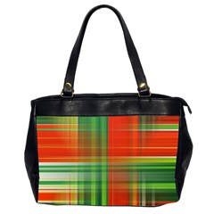 Background Texture Structure Green Office Handbags (2 Sides)