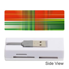 Background Texture Structure Green Memory Card Reader (Stick)