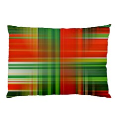 Background Texture Structure Green Pillow Case (Two Sides)