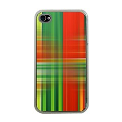 Background Texture Structure Green Apple iPhone 4 Case (Clear)