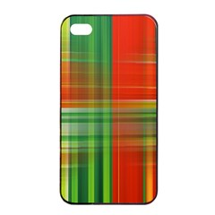 Background Texture Structure Green Apple Iphone 4/4s Seamless Case (black)