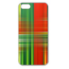 Background Texture Structure Green Apple Seamless iPhone 5 Case (Clear)