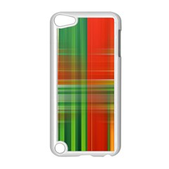 Background Texture Structure Green Apple Ipod Touch 5 Case (white)