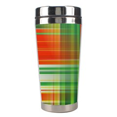 Background Texture Structure Green Stainless Steel Travel Tumblers