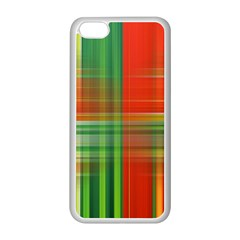Background Texture Structure Green Apple iPhone 5C Seamless Case (White)