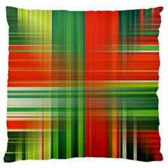 Background Texture Structure Green Large Flano Cushion Case (two Sides)