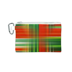 Background Texture Structure Green Canvas Cosmetic Bag (s)