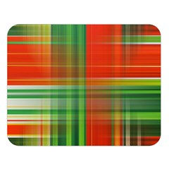 Background Texture Structure Green Double Sided Flano Blanket (Large)