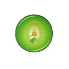 Beautiful Christmas Tree Design Hat Clip Ball Marker (4 Pack)