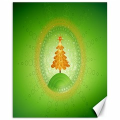 Beautiful Christmas Tree Design Canvas 16  X 20