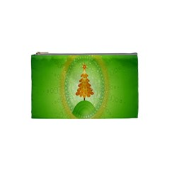 Beautiful Christmas Tree Design Cosmetic Bag (small)