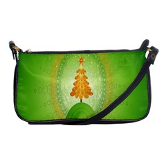 Beautiful Christmas Tree Design Shoulder Clutch Bags