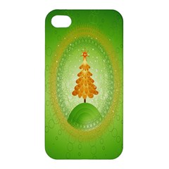 Beautiful Christmas Tree Design Apple iPhone 4/4S Hardshell Case