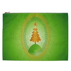 Beautiful Christmas Tree Design Cosmetic Bag (xxl)