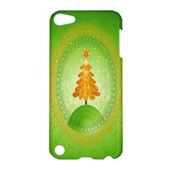 Beautiful Christmas Tree Design Apple Ipod Touch 5 Hardshell Case