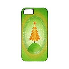 Beautiful Christmas Tree Design Apple iPhone 5 Classic Hardshell Case (PC+Silicone)