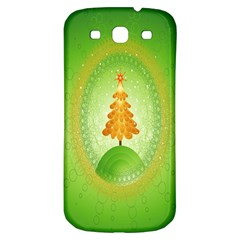 Beautiful Christmas Tree Design Samsung Galaxy S3 S III Classic Hardshell Back Case