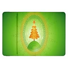 Beautiful Christmas Tree Design Samsung Galaxy Tab 8.9  P7300 Flip Case