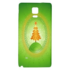 Beautiful Christmas Tree Design Galaxy Note 4 Back Case