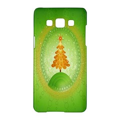 Beautiful Christmas Tree Design Samsung Galaxy A5 Hardshell Case