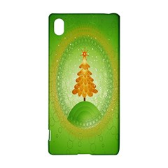 Beautiful Christmas Tree Design Sony Xperia Z3+