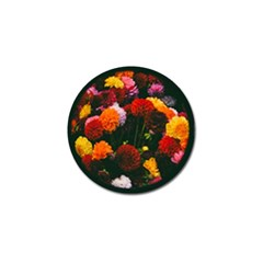 Beautifull Flowers Golf Ball Marker
