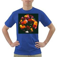 Beautifull Flowers Dark T Shirt