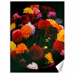 Beautifull Flowers Canvas 36  X 48