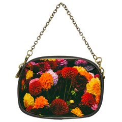Beautifull Flowers Chain Purses (Two Sides)
