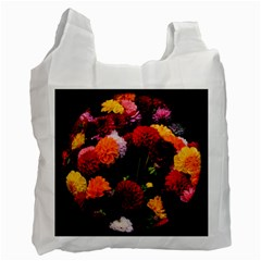 Beautifull Flowers Recycle Bag (Two Side)