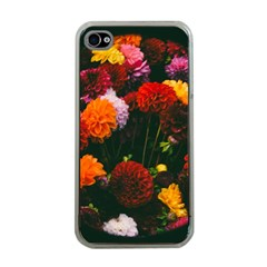 Beautifull Flowers Apple iPhone 4 Case (Clear)