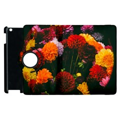 Beautifull Flowers Apple iPad 2 Flip 360 Case