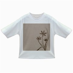 Background Vintage Drawing Sepia Infant/toddler T Shirts