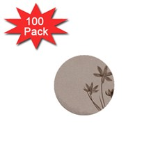 Background Vintage Drawing Sepia 1  Mini Buttons (100 pack)