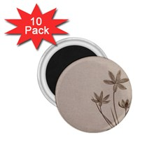 Background Vintage Drawing Sepia 1.75  Magnets (10 pack)