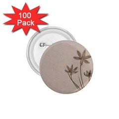 Background Vintage Drawing Sepia 1 75  Buttons (100 Pack)
